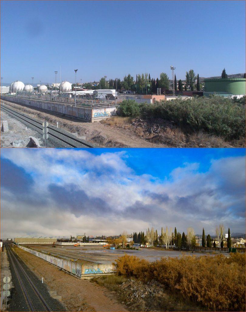 Antes y después de una instalación energética