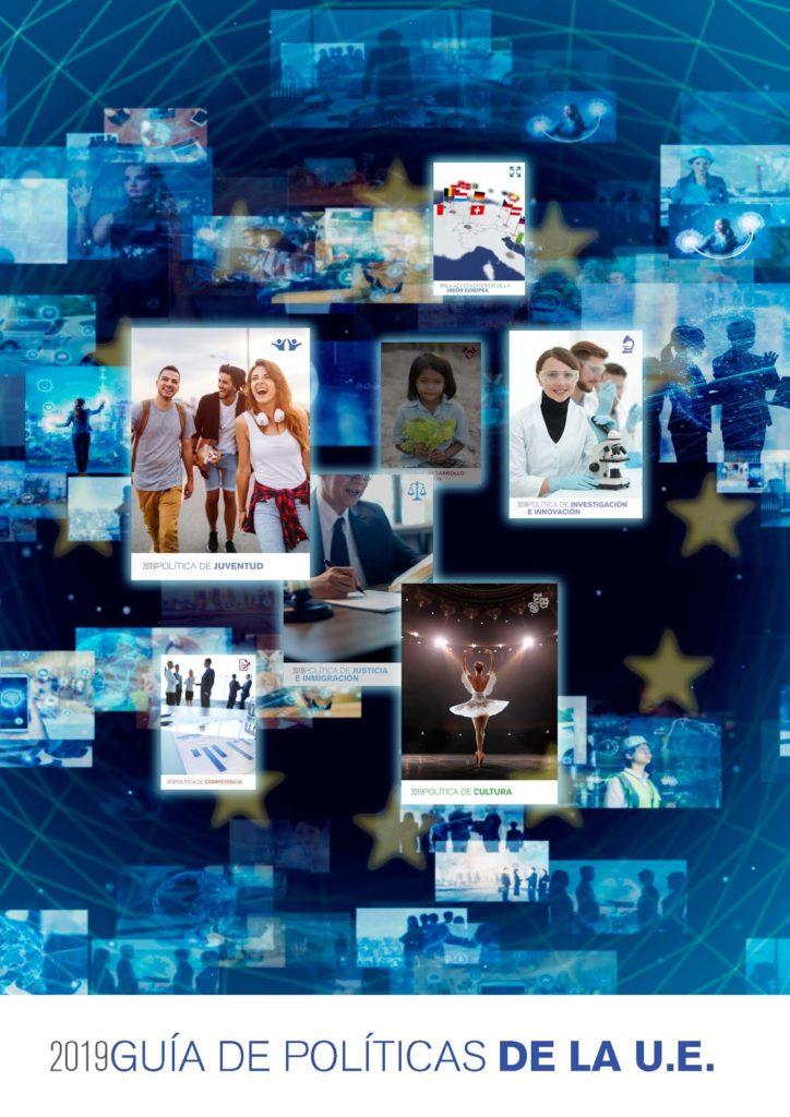 portada de la guía de políticas de la Unión Europea REIMAD Comunidad de Madrid