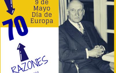 Día de Europa: 70 años de la Declaración Schuman