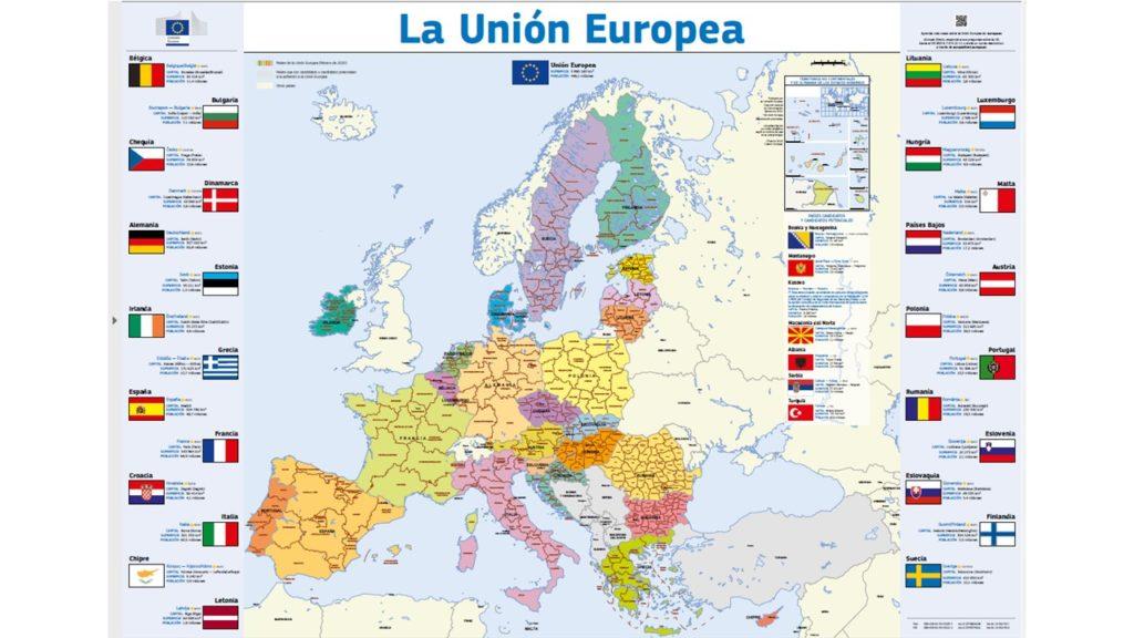 Mapa UE2020